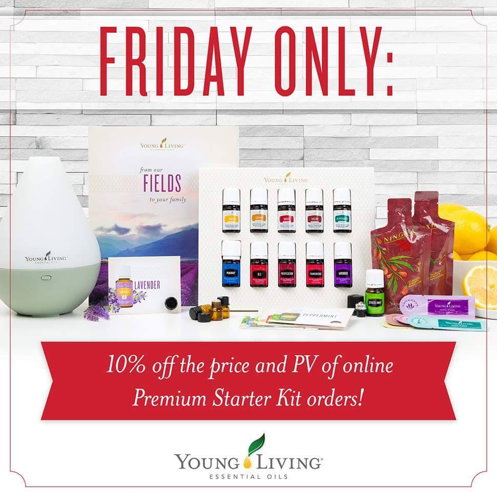Friday only YL 10% off starter kit